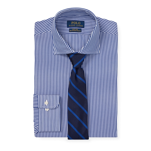 Ralph Lauren Custom Fit Easy Care Shirt Royal/White 15