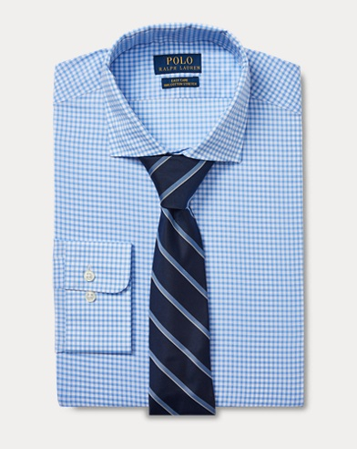 Custom Fit Gingham Shirt