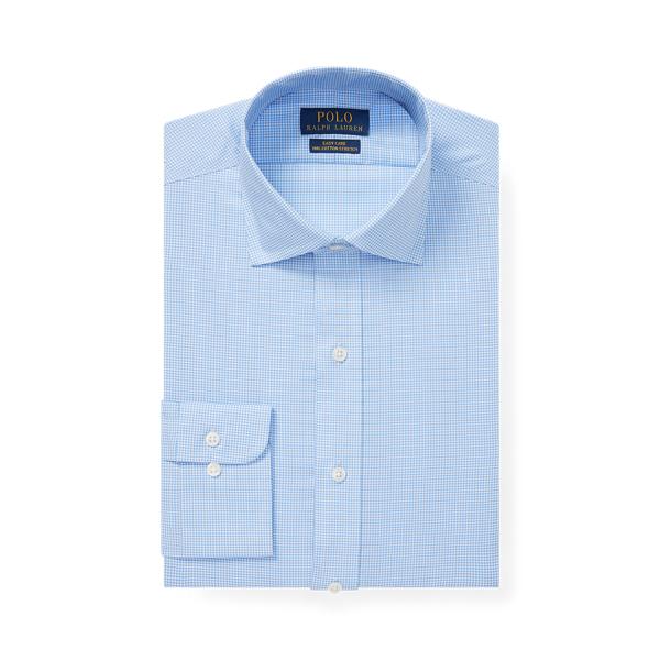 폴로 랄프로렌 셔츠 (슬림핏) Polo Ralph Lauren Slim Fit Gingham Shirt,Mini Blue/White