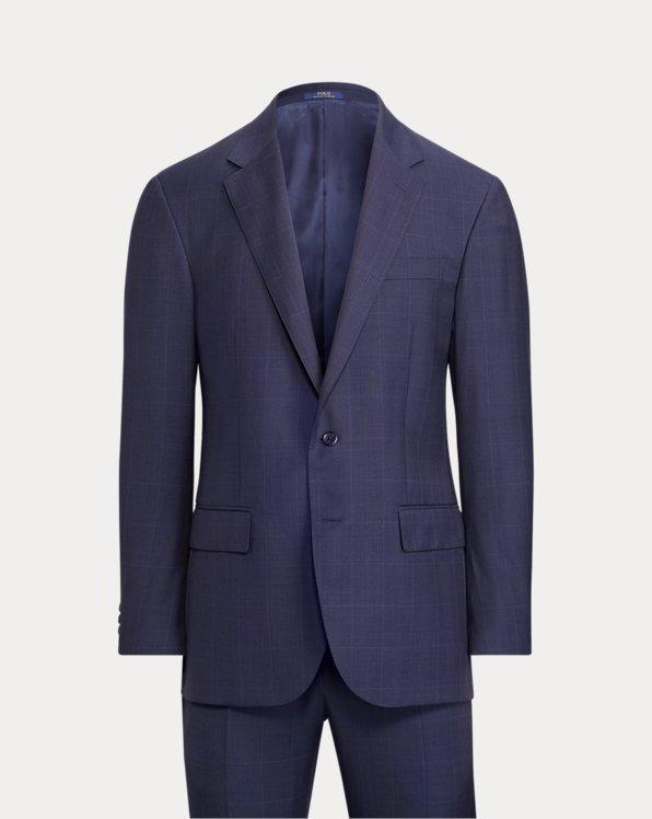 Polo Windowpane Twill Suit