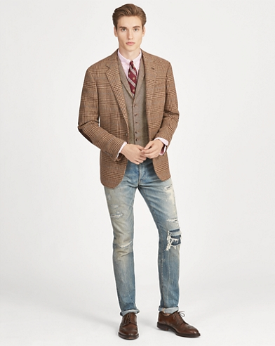 Polo Plaid Tweed Sport Coat