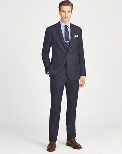 Polo Wool Birdseye Suit