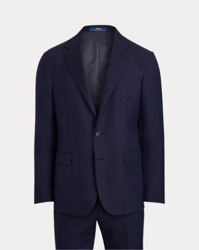 Polo Wool Birdseye Suit