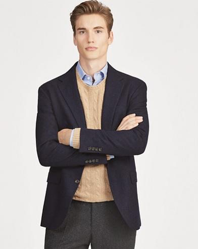 Polo Glen Plaid Suit Jacket