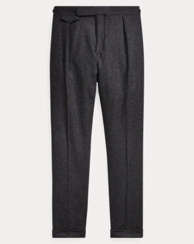 Wool Flannel Trouser