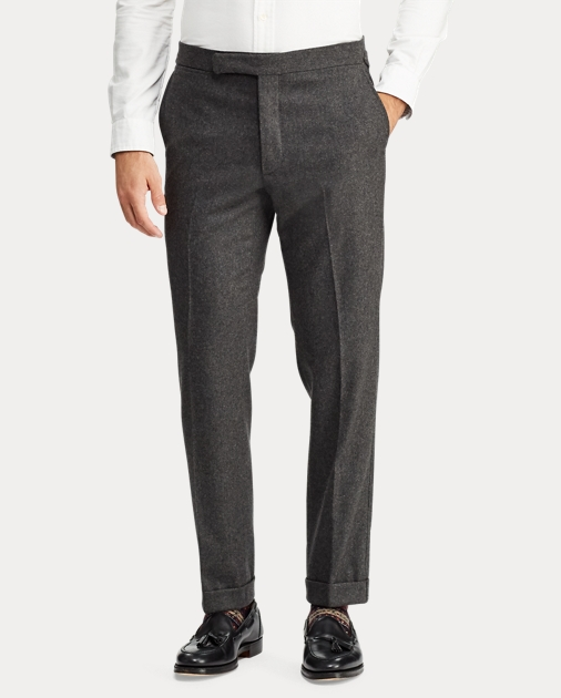56c4542cea Polo Wool Flannel Suit Trouser