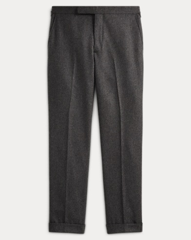 Polo Wool Flannel Suit Trouser