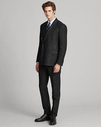 Polo Glen Plaid Wool Suit