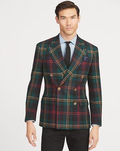 Polo Plaid Twill Sport Coat