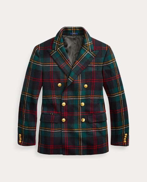 Polo Plaid Twill Sport Coat