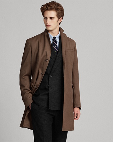 Morgan Wool Twill Topcoat