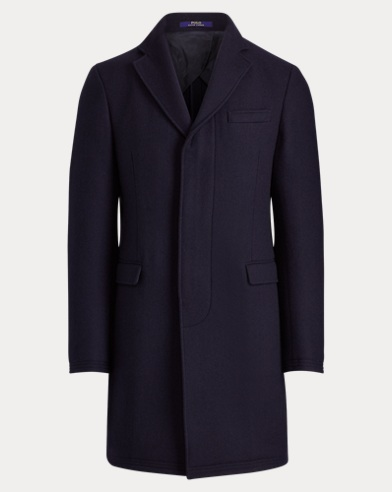 Morgan Wool-Blend Topcoat
