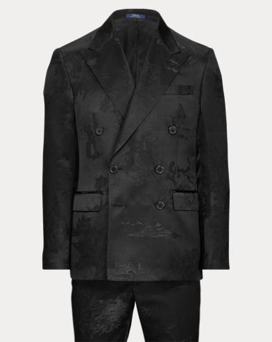 Polo Western Jacquard Suit