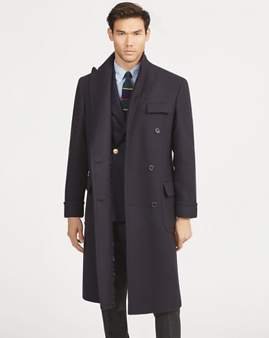 Polo Wool-Blend Topcoat
