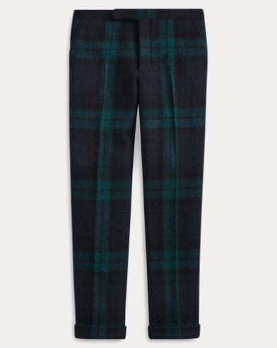 Polo Tartan Wool Twill Trouser
