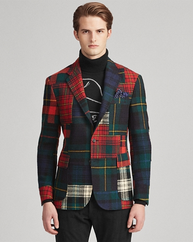 Polo Patchwork Sport Coat