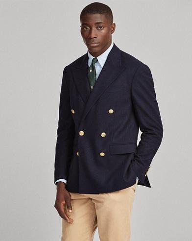 Polo Flannel Blazer