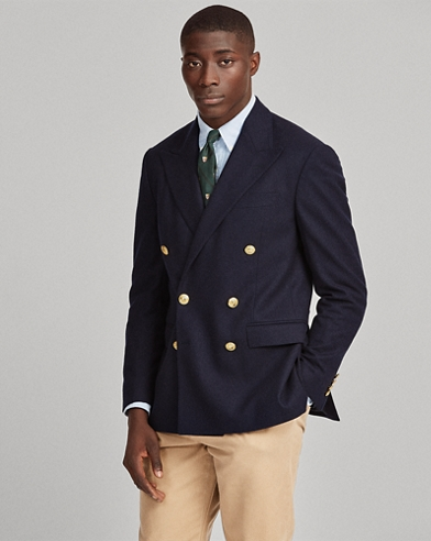 Polo Flannel Blazer