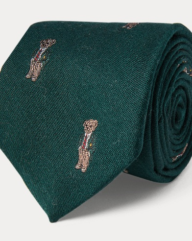 Polo Bear Narrow Tie