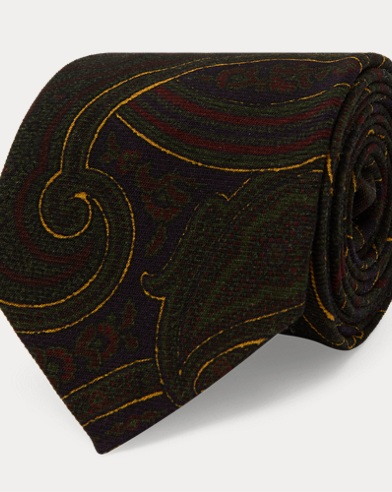 Paisley Challis Narrow Tie