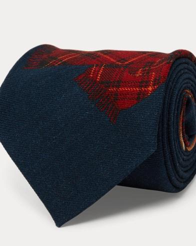 Aprés-Ski Wool Narrow Tie