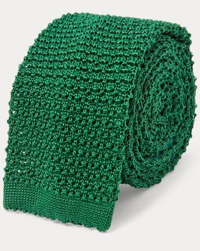 Knit Silk Tie