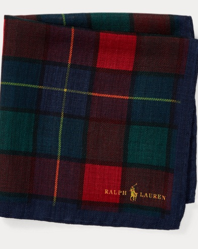 Tartan Wool Pocket Square