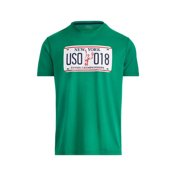 Ralph Lauren Us Open Active Fit T-Shirt Athletic Green Xs