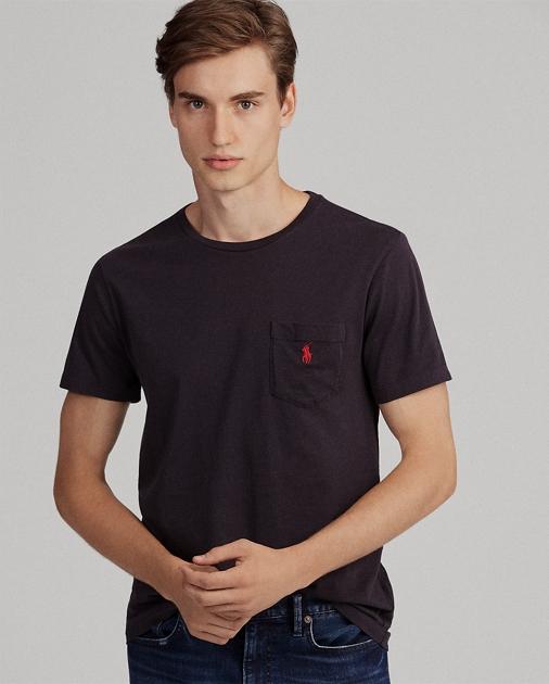 268285933 Polo Ralph Lauren Custom Slim Fit Pocket T-Shirt 1