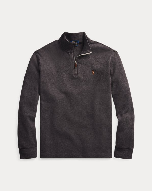Estate-Rib Quarter-Zip Pullover