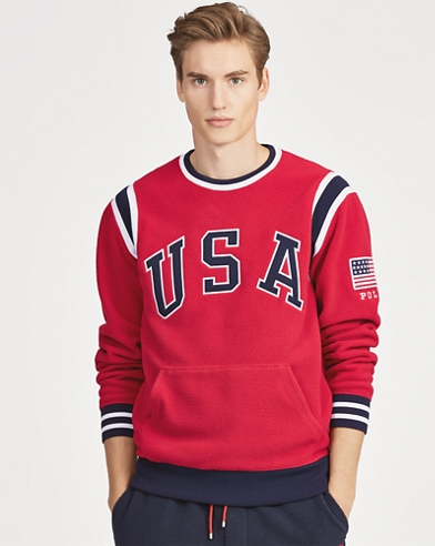 USA Fleece Sweatshirt
