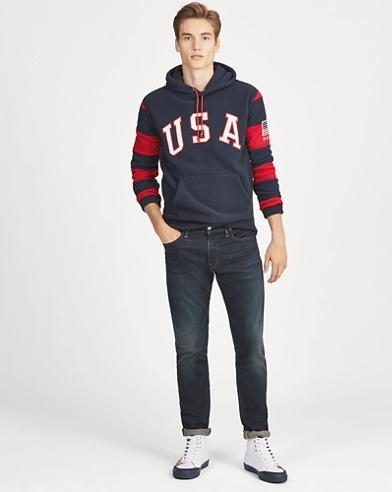 USA Fleece Hoodie