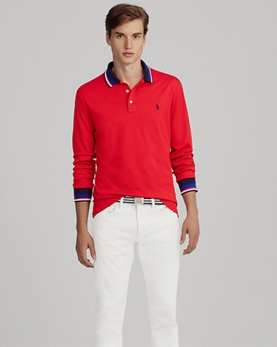 Weiches Custom-Slim-Fit Polo