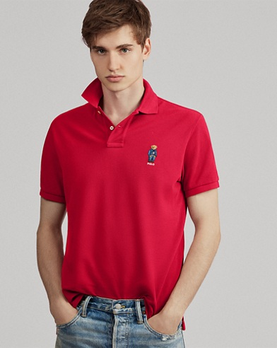 Classic Fit Bear Polo Shirt