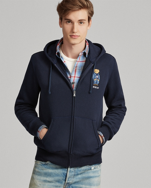 new styles 9b792 5006c Polo Bear Fleece Hoodie