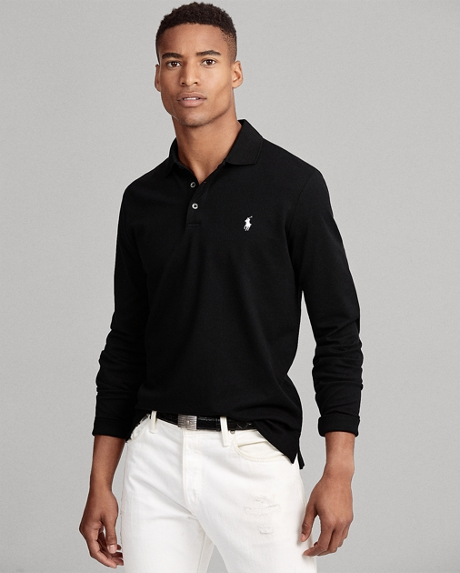 498238329257 Polo Ralph Lauren Custom Slim Long-Sleeve Polo 1