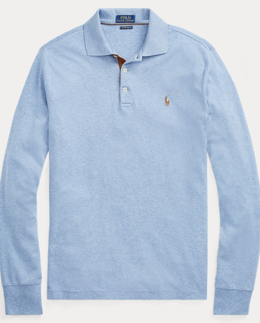11fba3062e6c Custom Slim Long-Sleeve Polo