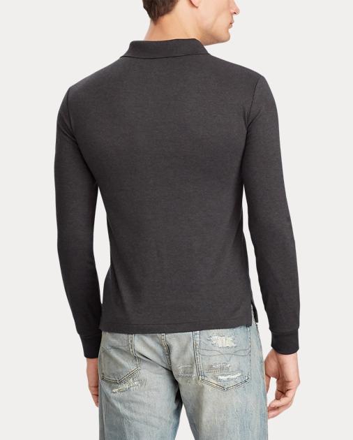 d74ecdc1 Slim Fit Long-Sleeve Polo