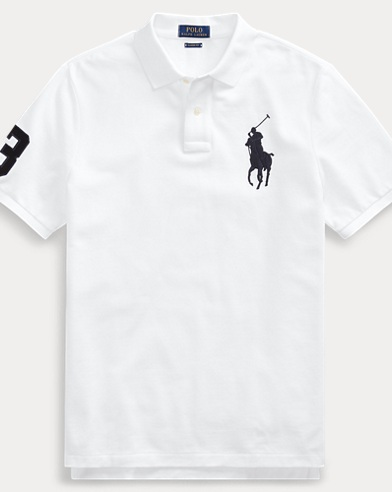 Big Pony Mesh Polo Shirt - All Fits