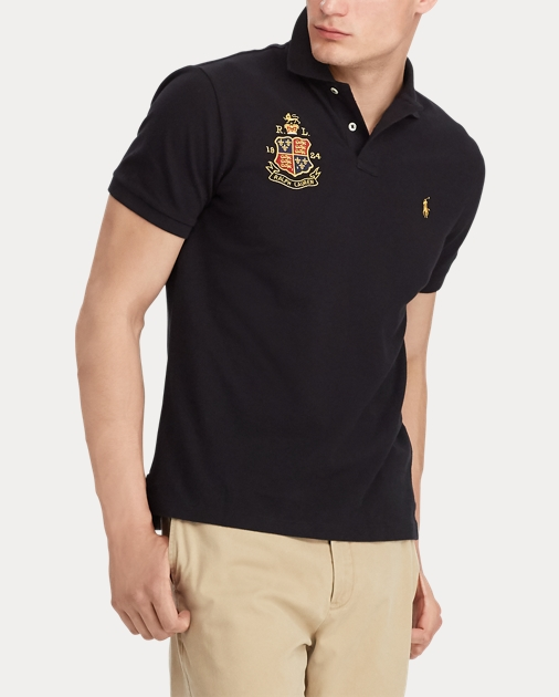 e7ffcb855cfa Polo Ralph Lauren Custom Slim Fit Mesh Polo 4