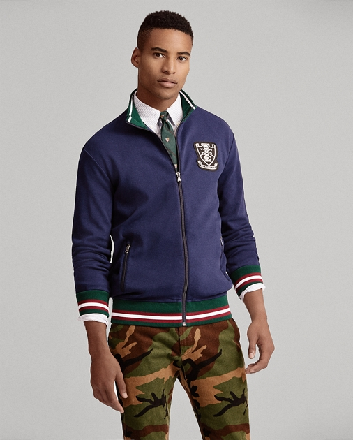 multiple colors up-to-datestyling reasonable price Cotton Interlock Track Jacket