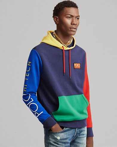 Hi Tech Colour-Blocked Hoodie