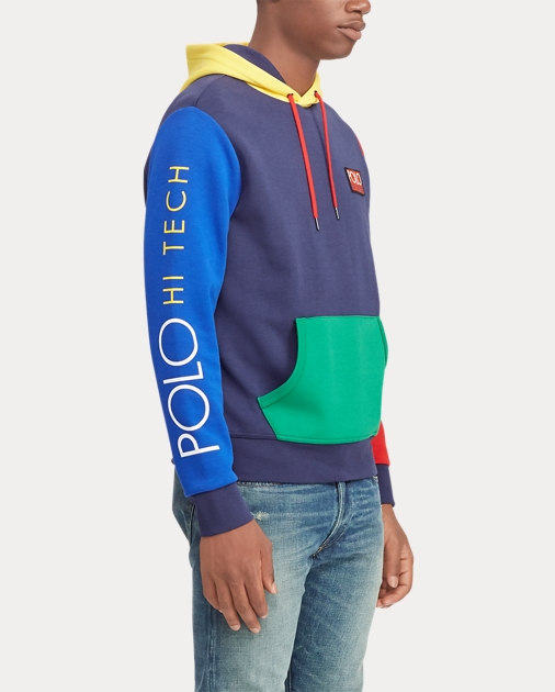 0bc85f0ffe669 produt-image-5.0. Men Clothing Sweatshirts   Sweatpants Sweatshirts Hi Tech  Color-Blocked Hoodie. Polo Ralph Lauren