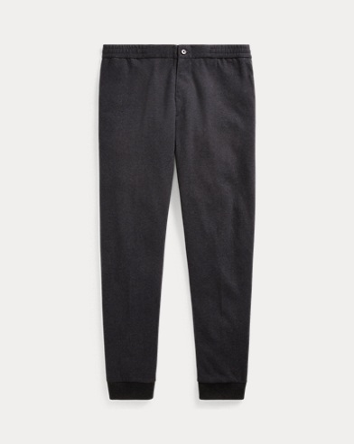 Herringbone Double-Knit Jogger
