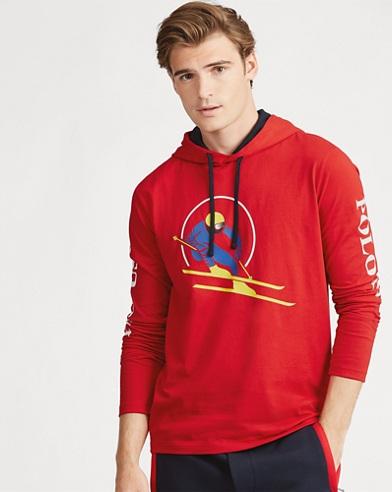 T-shirt à capuche jersey de coton