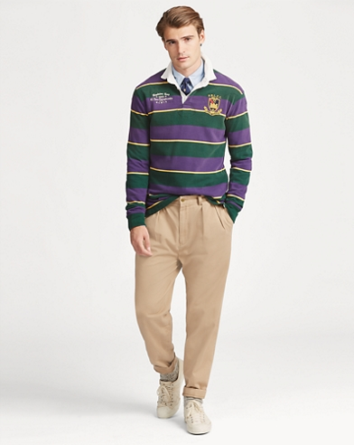 Classic Fit Cotton Rugby Shirt