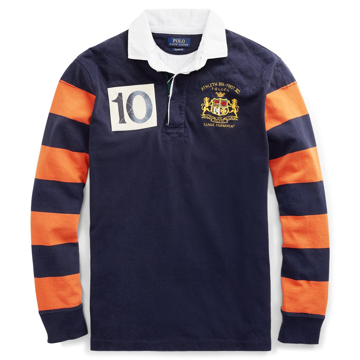 cc6cbf8f8 Classic Fit Cotton Rugby Shirt