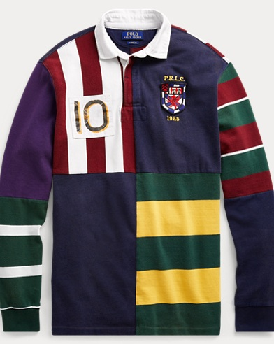 Classic Fit Patchwork Rugby