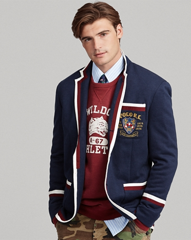 Double-Knit Rowing Blazer