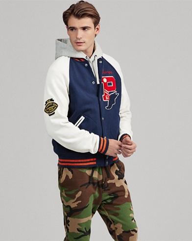 Fleece Baseball Jacket